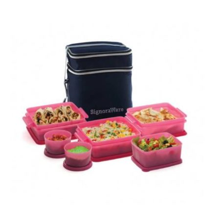Signoraware Family Pack Lunch (With Bag)