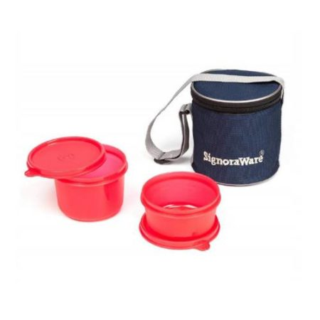 Signoraware Executive Small Lunch Box (With Bag)