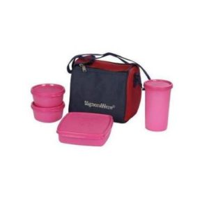 Signoraware Best Lunch Box With Bag