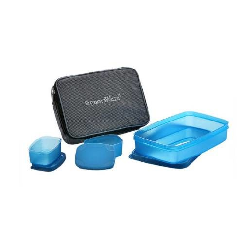 Signoraware Compact Kids Lunch Box With Bag
