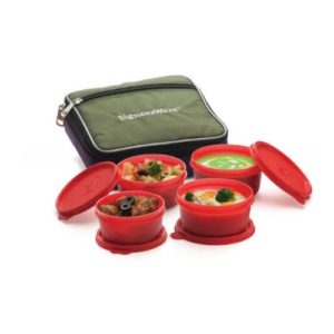 Signoraware Fresh Lunch Box (With Bag)