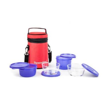 Signoraware Signature Lunch Box With Bag