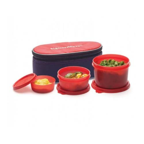 Signoraware Rainbow Lunch Box With Bag