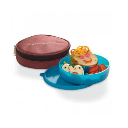 Signoraware Mini Meal Kids Lunch Box With Bag