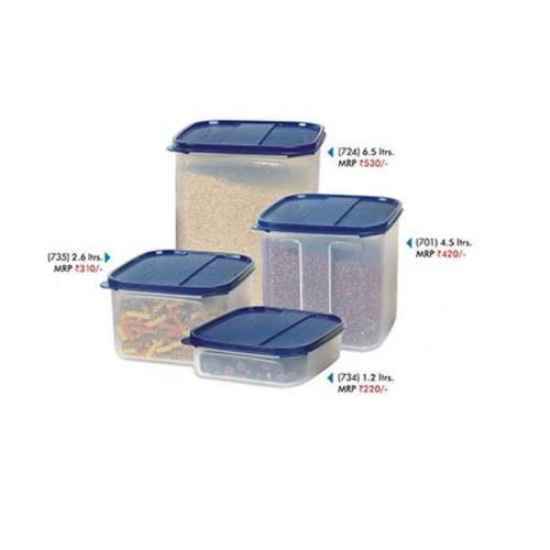 Signoraware Modular Square Container Set Of 4