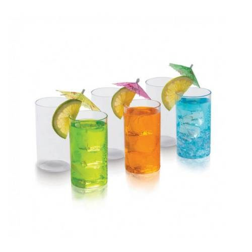 Signoraware Crystal Clear Glass Big Set Of 6