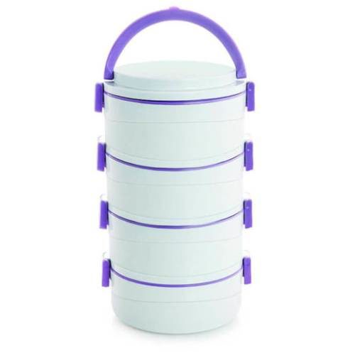 Cello Amaze Insulated Container Lunch Carrier 4 Containers