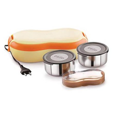 Cello Atom Electric Lunch Box 2 Containers