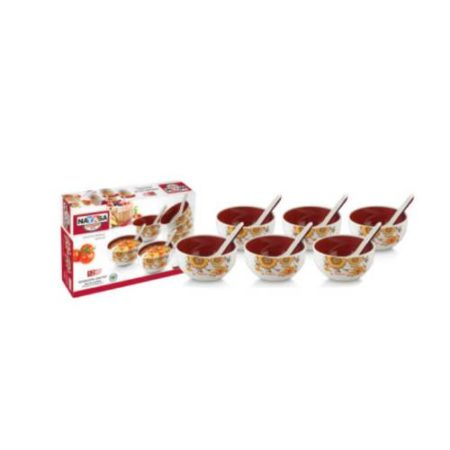 Nayasa Round Bowl Soup Set 12 Pcs.