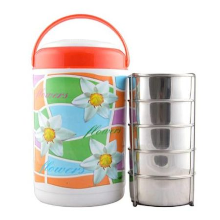 Cello Cosmos Insulated Lunch Box 5 Containers
