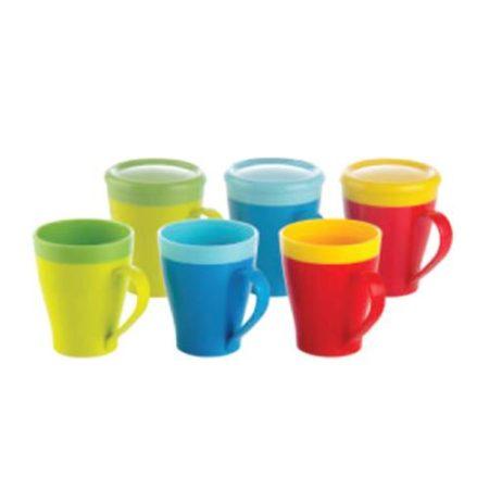 Nayasa Dino Milk Mug with Lid- 400 ml