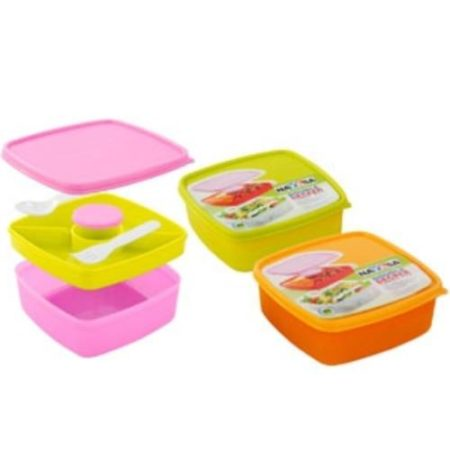 Nayasa Double Decker Kids Lunch Box