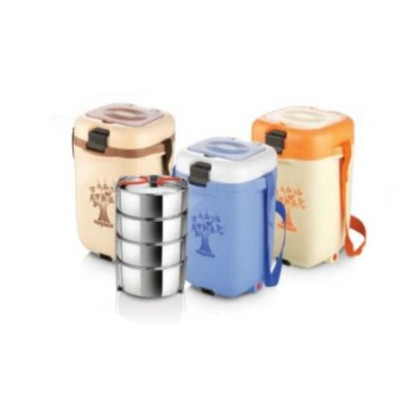 Nayasa Electromate Electric 4 Container Lunch Box