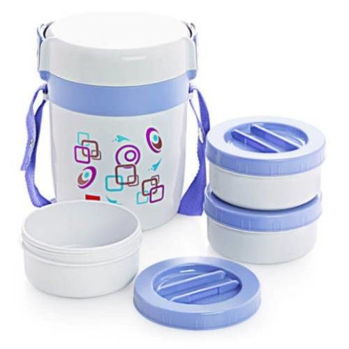 Cello Executive Insulated Lunch Carrier 3 Container