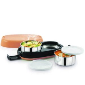 Cello Fastron Electric Lunch Box 2 Containers