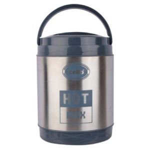 Cello Hot Max Stainless Steel Lunch Box 3 Containers