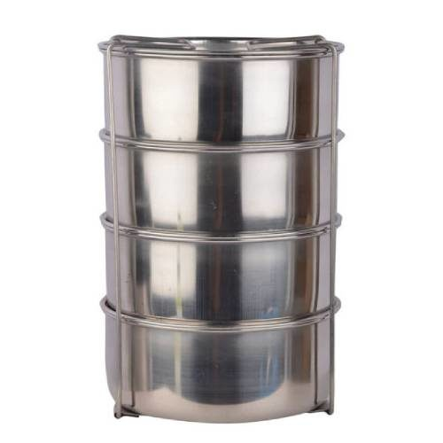 Cello Hot Max Stainless Steel Lunch Box 4 Containers
