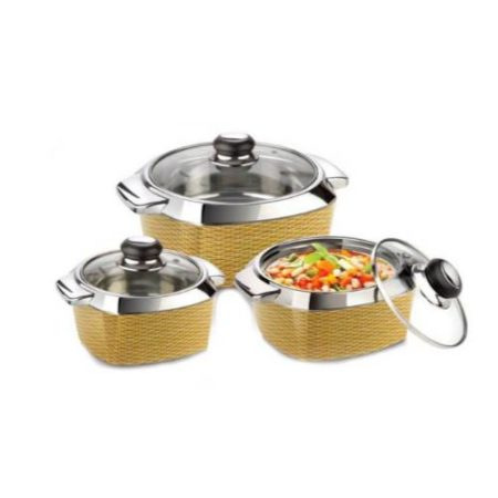Nayasa Impulse Classic Casserole Gift Set of 3