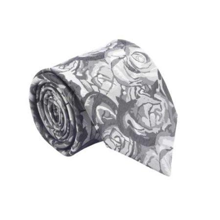 Floral Print Design Micro Fiber Tie - 75
