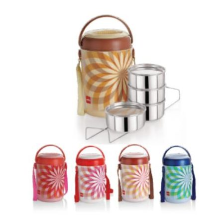 Cello Mark Insulated Lunch Box 4 Containers