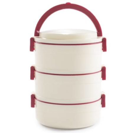 Cello Merit Insulated Food Carrier 3 Containers