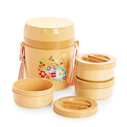 Cello Micra Insulated Lunch Carrier 3 Containers