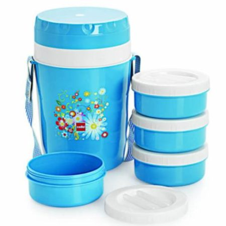Cello Micra Insulated Lunch Carrier 4 Containers