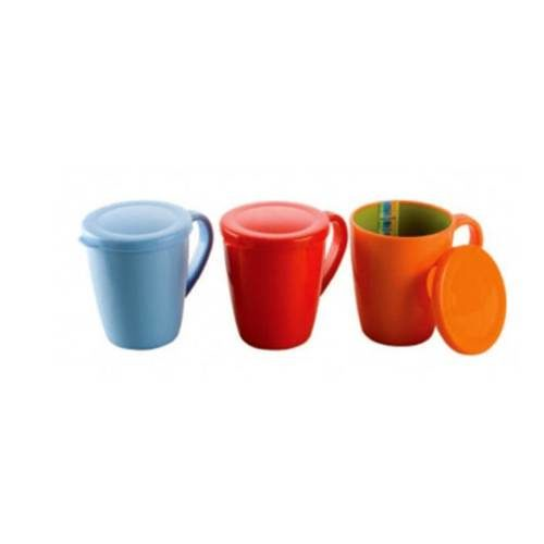 Nayasa Milk Mug with Lid - 400 ml