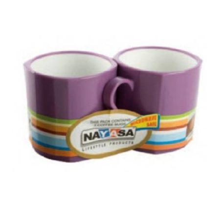 Nayasa Coffee Mug (Set of 2) - 300 ml