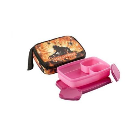 Signoraware Rock DJ Compact Kids Lunch Box with Bag