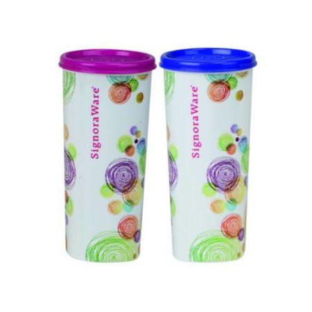 Signoraware Velvet Jumbo Plastic Tumbler - 500 Ml