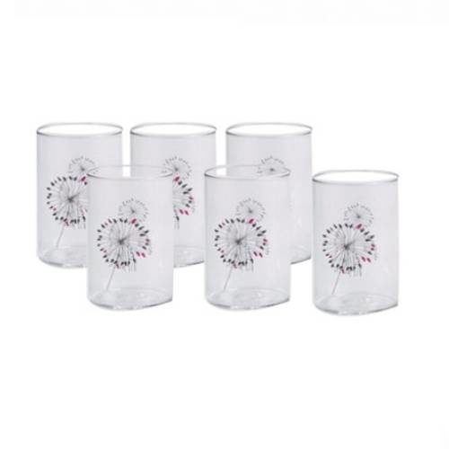 Signoraware Angelica-Crystal Clear Glass Medium Set