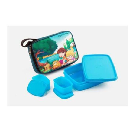 Signoraware Playtime-Compact Kids Lunch Big With Bag