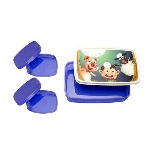 Signoraware Night Safari-Compact Kids Lunch Box (Big)