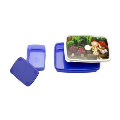 Signoraware Green Island-Compact Kids Lunch Box (Small)
