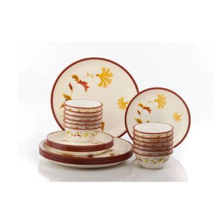 Nayasa Printed Round Deluxe Dinner Set - 24 Pcs.