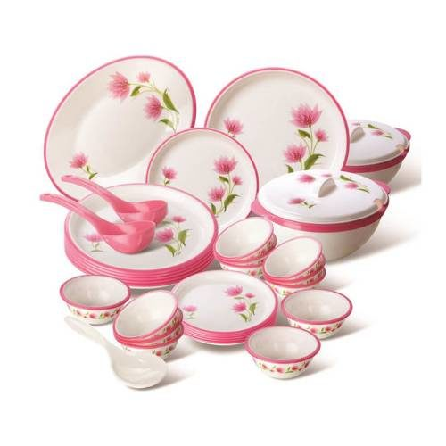 Nayasa Printed Round Deluxe Dinner Set - 32 Pcs.