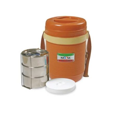 Nayasa Ruf N Tuf Insulated Lunch Box - 3 Container