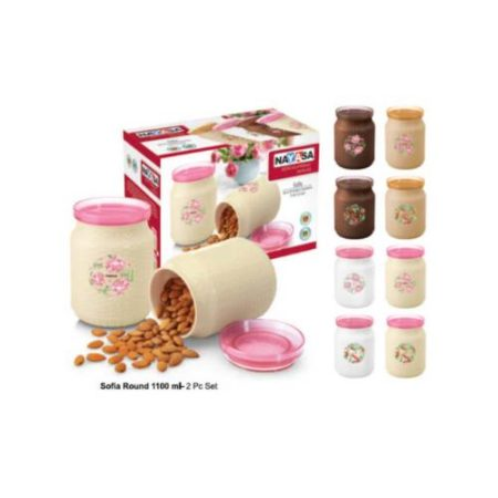 Nayasa Sofia Round 2 Pcs. Set -1140 ML