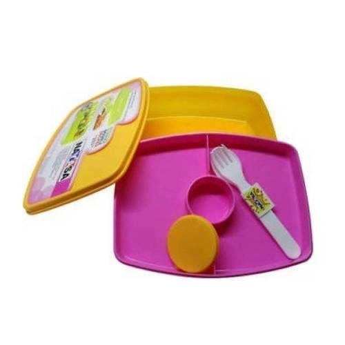 Nayasa Witty Double Decker Kids Lunch Box