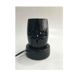Black Flower Design Electric Diffuser