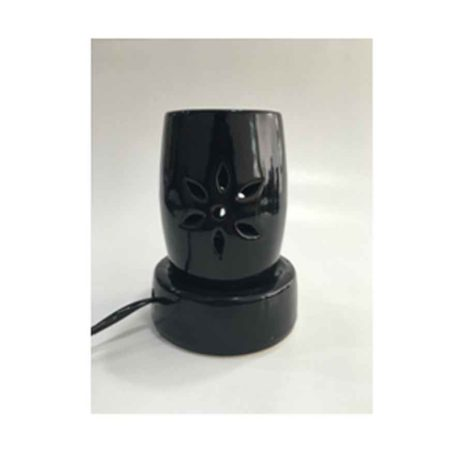Black Flower Design Electric Diffuser
