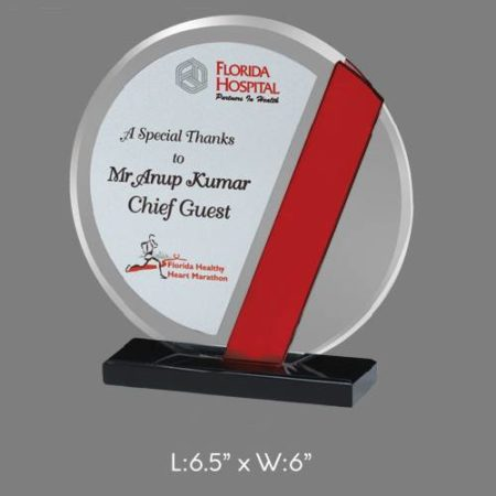 "Angel Acrylic Trophy / Memento - L 6.5"" x W 6"""