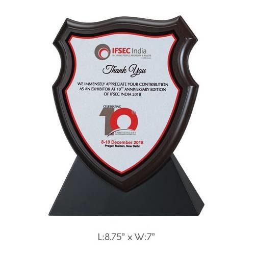 """Angel Wooden Trophy / Memento - L 8.75"""" x W 7"""""""