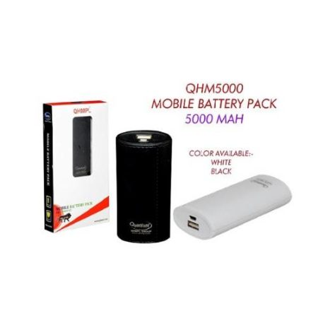 Quantum Lithium ION Battery Power Bank (SYMSML U1C2)- 5000 mAh