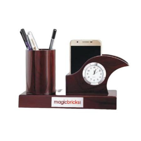 Desktop Organizer with Watch 9216