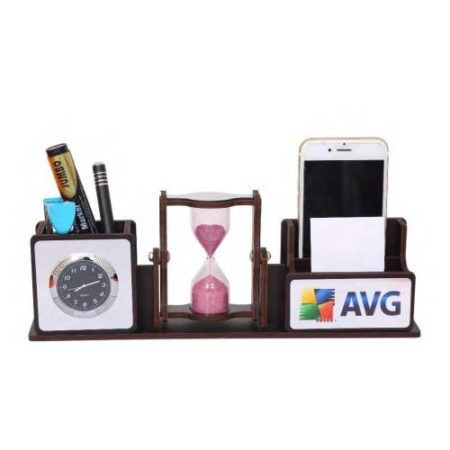 Office Table Top Revolving Sand Timer