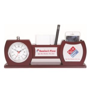Desktop Organizer with Watch - 16