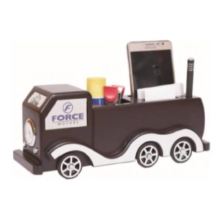 Moving Desktop Organizer with Watch & Mobile Stand