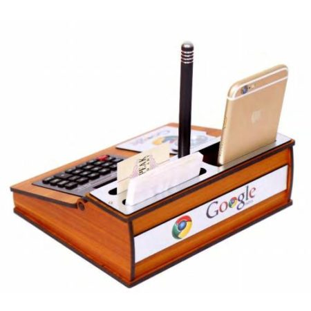 Desktop With Watch, Mobile Stand & Calculator